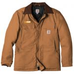 Economical Print Carhartt Duck Traditional Custom Coat At Special Offer