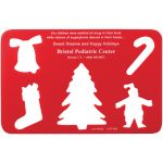 Reasonable Priced Christmas Shapes Promotional Stencil Best Print Company