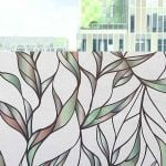 Custom Window Decals | Custom Window Clings | Colorful-Leaves