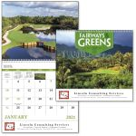 Best Fairways & Greens - 13 Month Appointment Custom Calendar Top Printing Factory