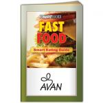 Cheap Fast Food Informational Guide - Promotional Book Best Printing Supplier