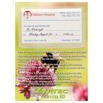 Sales-Priced Full Color Custom Magnet w/ Business Card Pocket - Allergy Awareness - 20 mil Best Printing Supplier