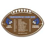 Purchase Full Color Jumbo Football Custom Magnet - 20 mil Dependable Print Company