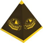 "Reasonable Priced Full Color Pyramid Design Custom Packaging - 3.5""w x 3.8""h x 3.5""d Best Print Supplier"