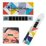 Manufacture Full Color Reusable Forehead Thermometer w/ Custom Case Dependable Print Factory