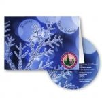 Low Price Full Color Seasons Greeting CD w/ Promotional Greeting Card At Lowest Offer