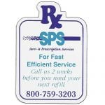 Purchase Full Color Specialty Shaped Logo Magnet - Rx - 20 mil Dependable Print Company