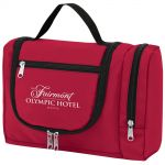 Cheap Hanging Utility and Toiletry Promotional Travel Case Best Printing Company
