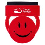 Economical Print Happy Face Custom Webcam Cover w/ Screen Cleaner Print Factory