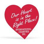 Top Print Heart Shaped Lapel Sticker Custom Sticker Rolls Dependable Print Supplier