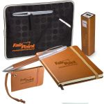 Personalized LEEMAN NYC Tuscany Office Essentials Custom Gift Set Print Company
