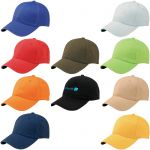 Best Low Profile Unstructured Embroidered Promotional Cap At Lowest Rate