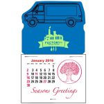 Cheap Print Magna-Stick Custom Calendar - Van Top Printing Supplier