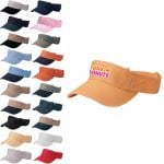 Reasonable Priced Pro Style Embroidered Cotton Twill Promotional Visor For Sale