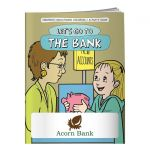 Best Promo Coloring Book - Let's Go to the Bank Top Printing Manufacturer