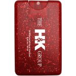 Personalized Sparkle Credit Card Custom Hand Sanitizer Spray - 20ml Printing Factory