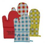 Top Print Therma-Grip Promotional Oven Mitts w/ Pocket Best Print Factory