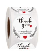 Thank You for Your Celebrating with Us Stickers | TY029 | Labels for Party Favors