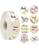 Pentagon Thank You Stickers | TY063 | Thank Your labels