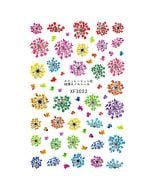 Flower Nail Stickers | Nail Art Design Stickers