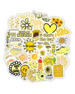 Yellow Sticker Phone Case | Vinyl Stickers for Phone Case