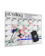 Monthly Whiteboard Calendar | Fridge Planners | Magnetic Calendars