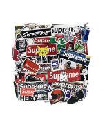 Supreme Phone Sticker | Cool Supreme Stickers | Supreme Sticker