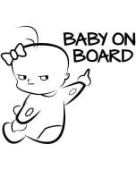 Custom Baby on Board Sign | Funny Baby on Board Sign