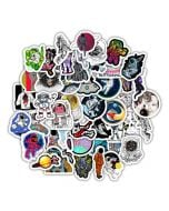 Aesthetic Vinyle Stickers | Space Aesthetic Stickers | Aesthetic Decals