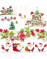 Personalised Christmas Stickers | Christmas Window Stickers | Christmas Decals