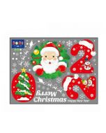 Large Christmas Window Clings | Christmas Glass Stickers | Christmas Sticker