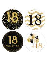Happy 18th Birthday Stickers | Happy Birthday Sticker | Funny Happy Birthday Stickers