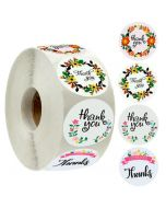 Custom Thank You Stickers | Cheap Thank You Labels on a Roll | TY025 Ready In Stock