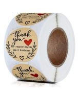 Custom Thank You Stickers | Cheap Thank You Labels on a Roll | TY037 Ready In Stock