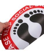 Custom Social Distancing Floor Decal | Wholesale Social Distance Floor sticker