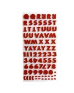 Felt Sticker Letters | Felt Craft Ideas