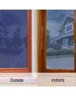 Static Window Clings   Static Cling Decals   Blue Frosted Insulation