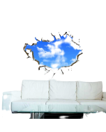 Cloud Wall Stickers | Children Wall Decals