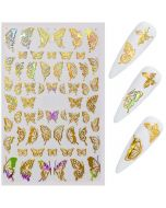 Gold Nail Decals | Nail Transfer Stickers
