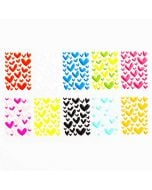 Heart Epoxy Stickers | Custom 3D Decals