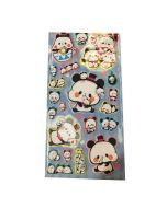 Puffy Panda Stickers | Puffy Animal Stickers
