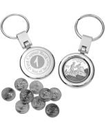 State Quarter Promotional Keychain