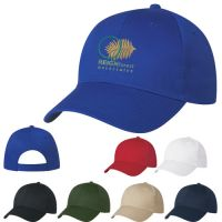 Bargain 6 Panel Embroidered Structured Promotional Cap At Lowest Offer