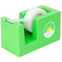 Top Print Full Color Vibrant Desktop Custom Tape Dispenser Dependable Print Company