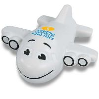 Sales-Priced Smile Plane Promotional Stress Ball Best Printing Manufacturer