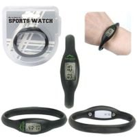 Manufacture in Bulk Water Resistant Silicone Custom Sports Watch Top Printing Company