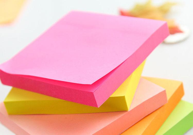 custom sticky notepads