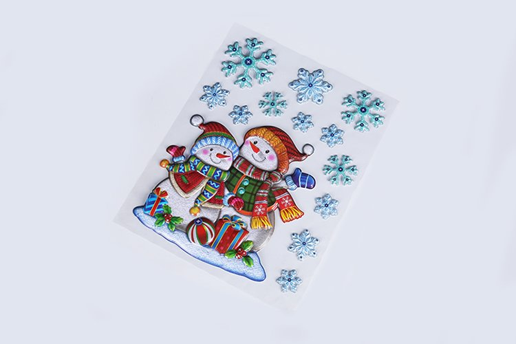 Use of Christmas Puffy Stickers