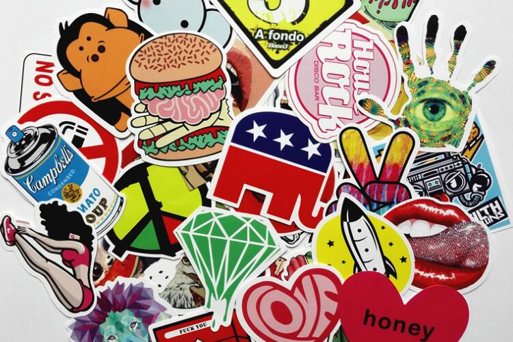 Brand Stickers Used to Boost Local Business