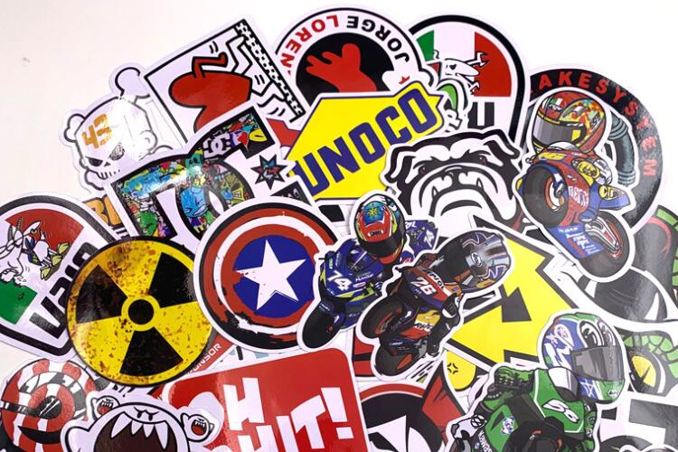 Custom cool laptop stickers